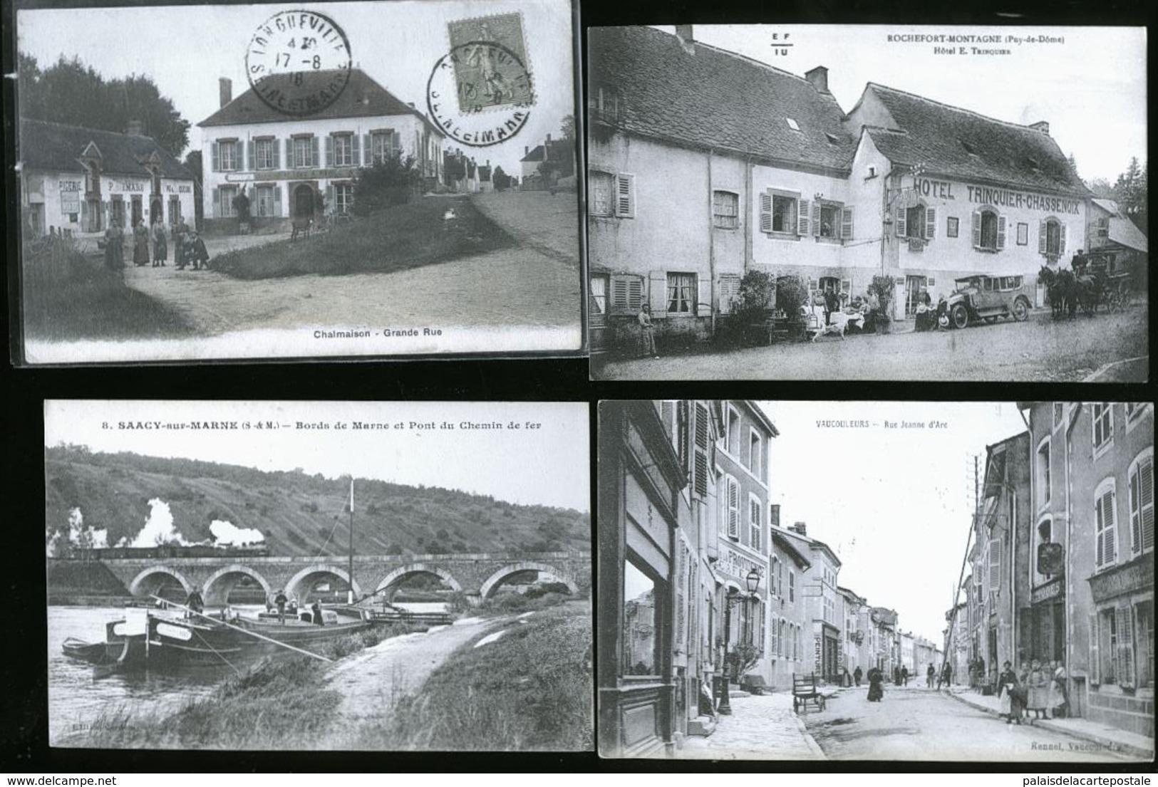 TRES BEAU LOT DE CARTE POSTALES TOUS DEPARTEMENTS - Postcards