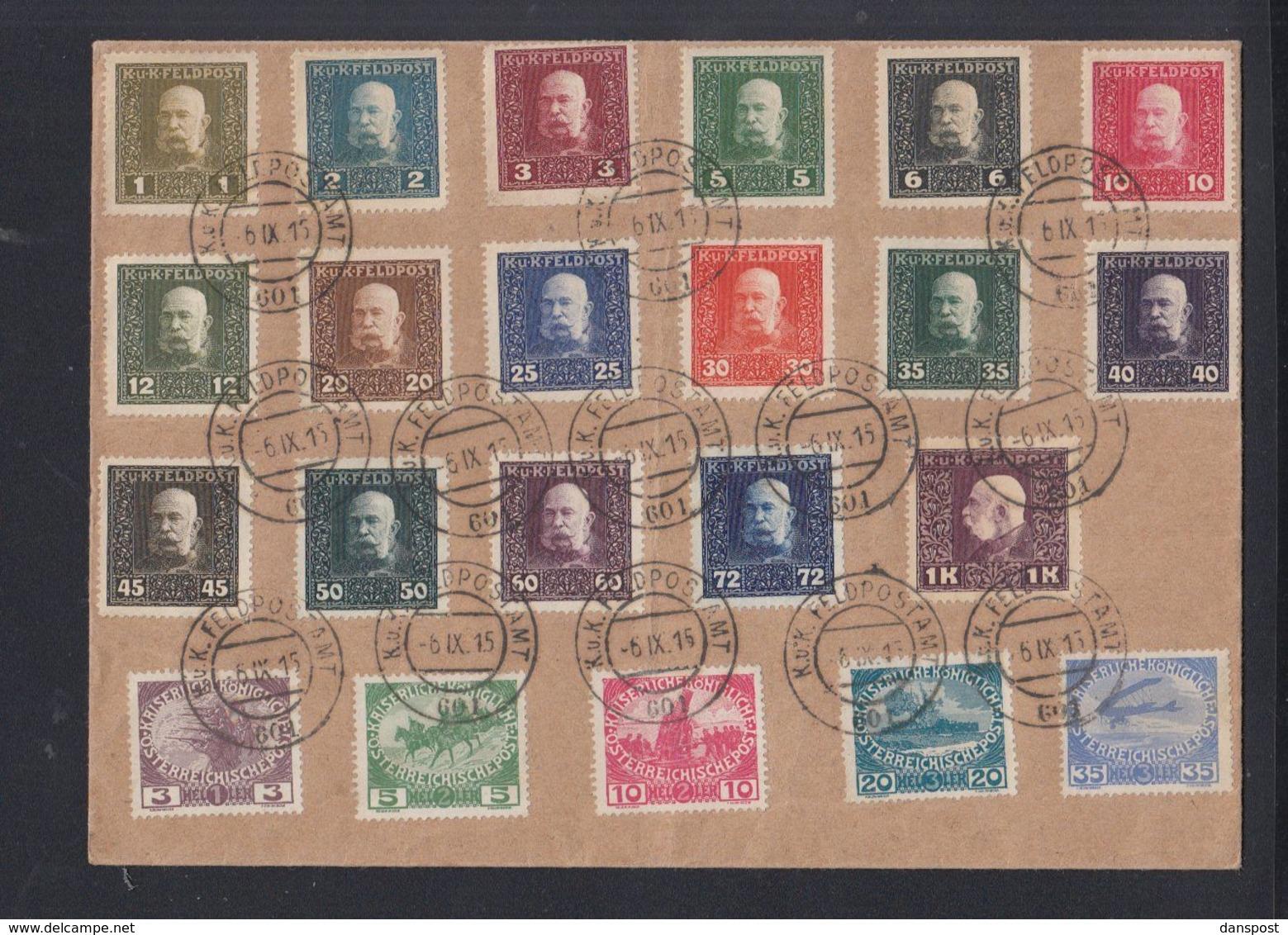 Österreich Umschlag Feldpost 1915 - 1850-1918 Imperium