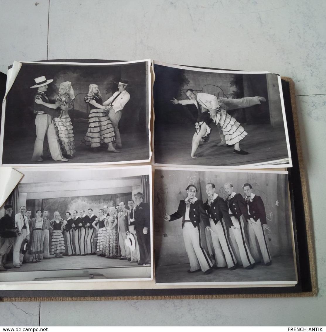 ALBUM MILITARIA GUERRE ET CAPTIVITE CAMP STARGARD IM POMMERN 1940 SCENE DE VIE THEATRE DONT TRAVESTIE CIMETIERE SPORT - Krieg, Militär