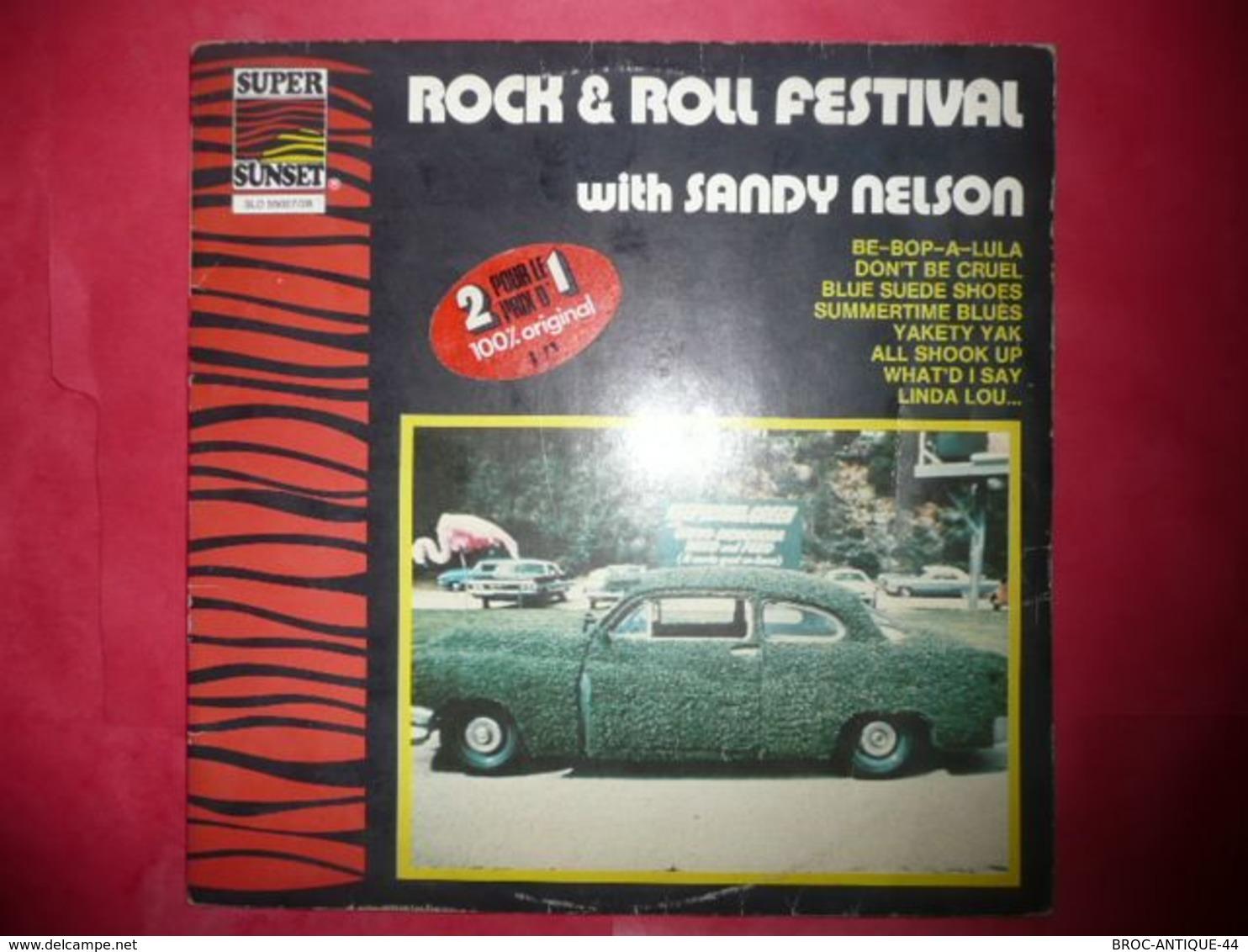 LP33 N°5122 - SANDY NELSON - SLD 55027/28 - 2 LP'S - Rock