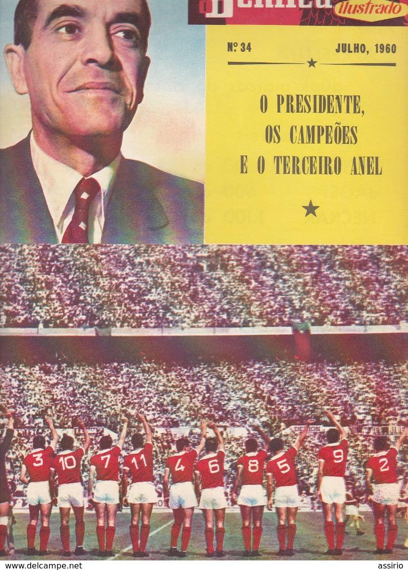 Portugal -6 Revistas Antigas Do Benfica Nºs  31 Ao  36 - Documentos Históricos