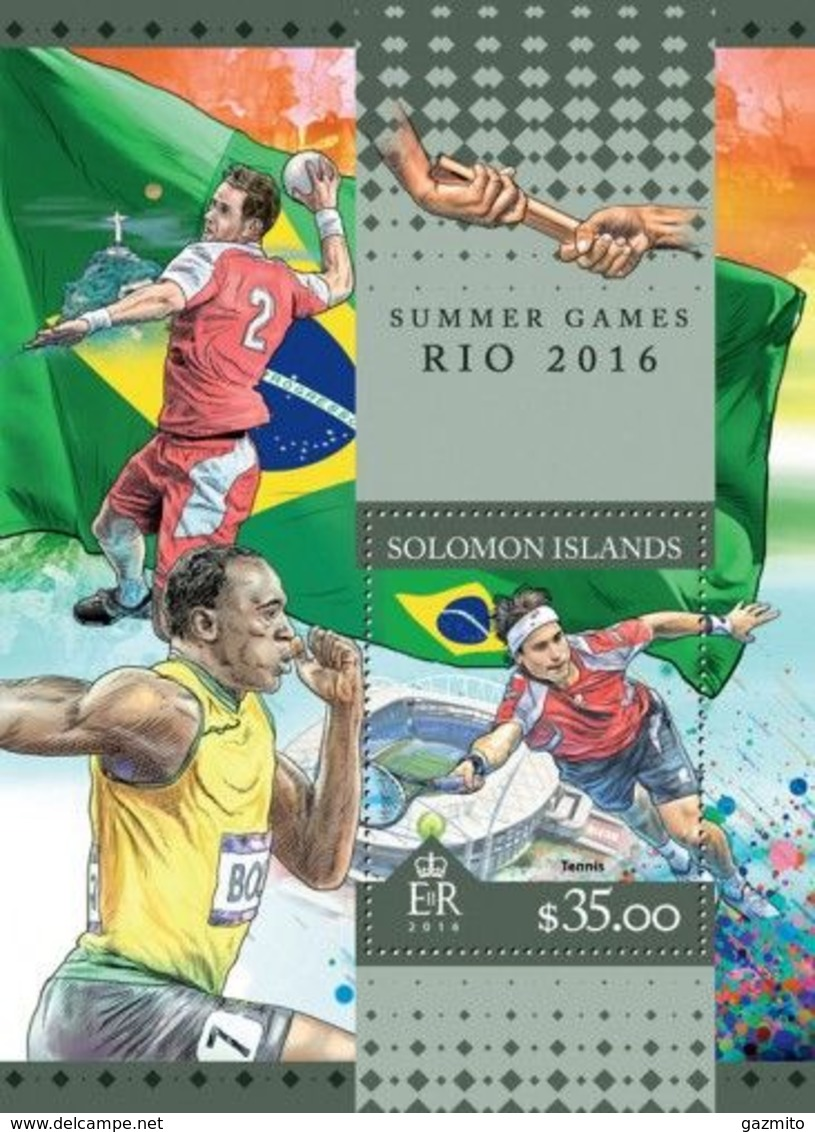 Salomon 2016, Olympic Games In Rio, Tennis, Handball, BF - Balonmano