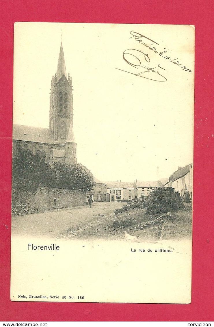 C.P. Florenville =  Rue  Du  Château - Florenville