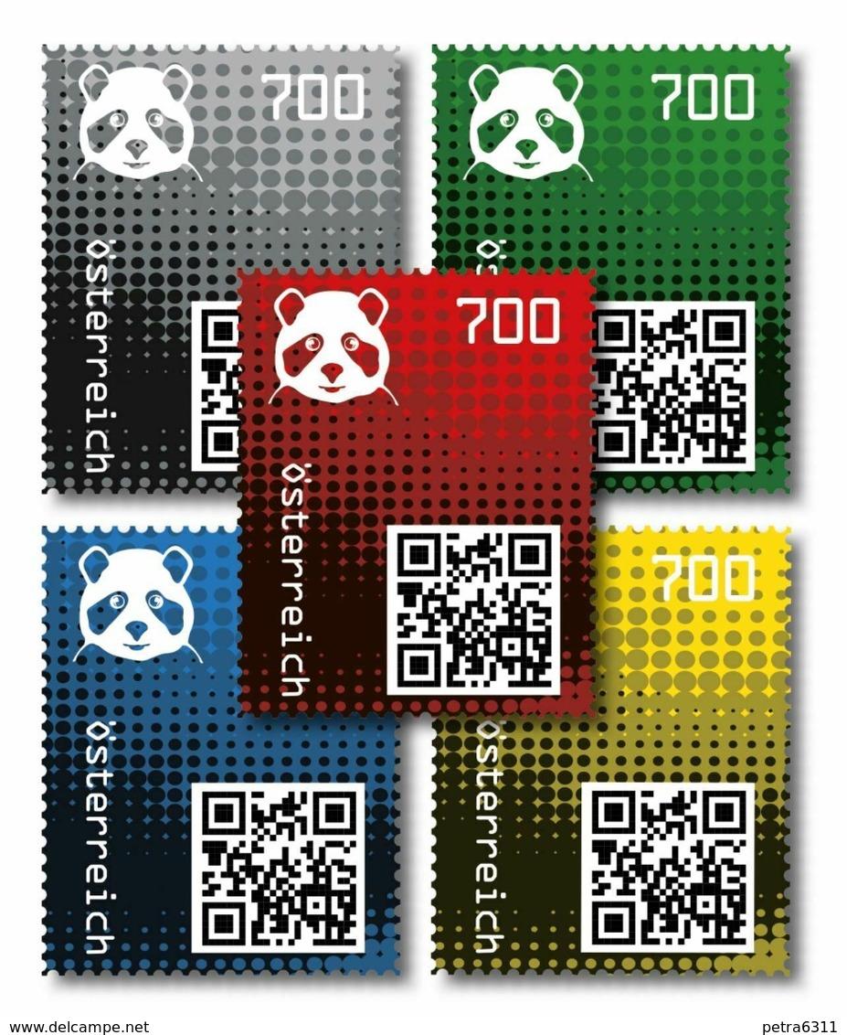 Crypto Stamp 2.0 Panda FULL SET - Komplett- Gestempelt - 2011-... Used