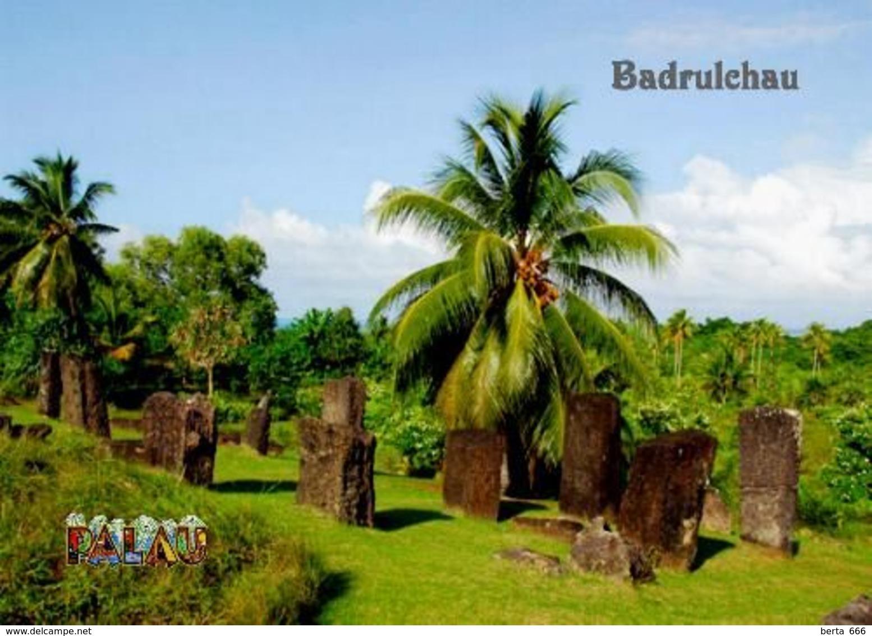 Palau Ngarchelong Badrulchau Monoliths New Postcard - Palau