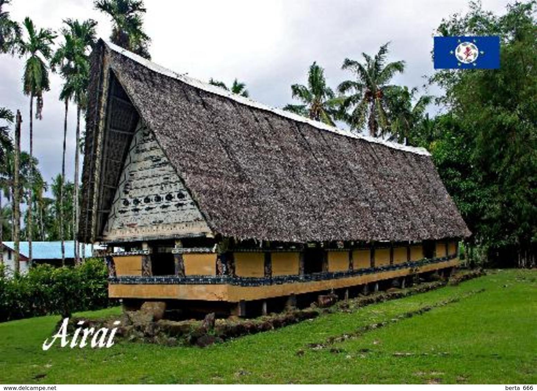 Palau Airai Bai Men's Meeting House New Postcard - Palau