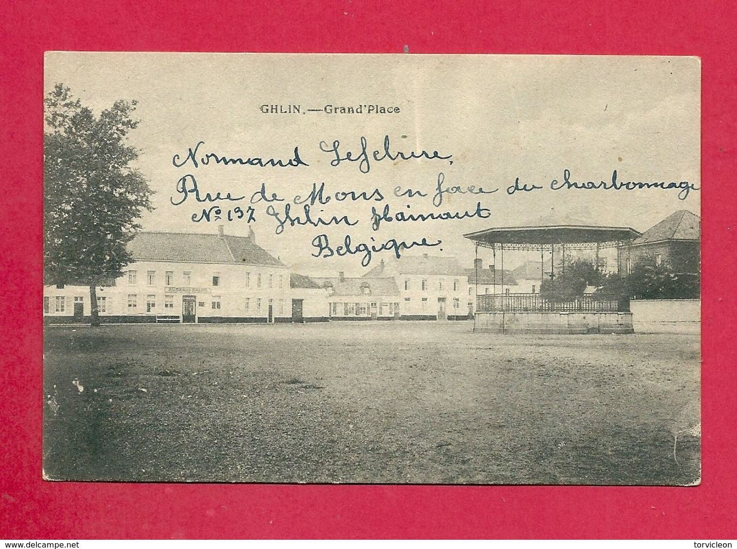C.P. Ghlin =  Grand'Place - Mons