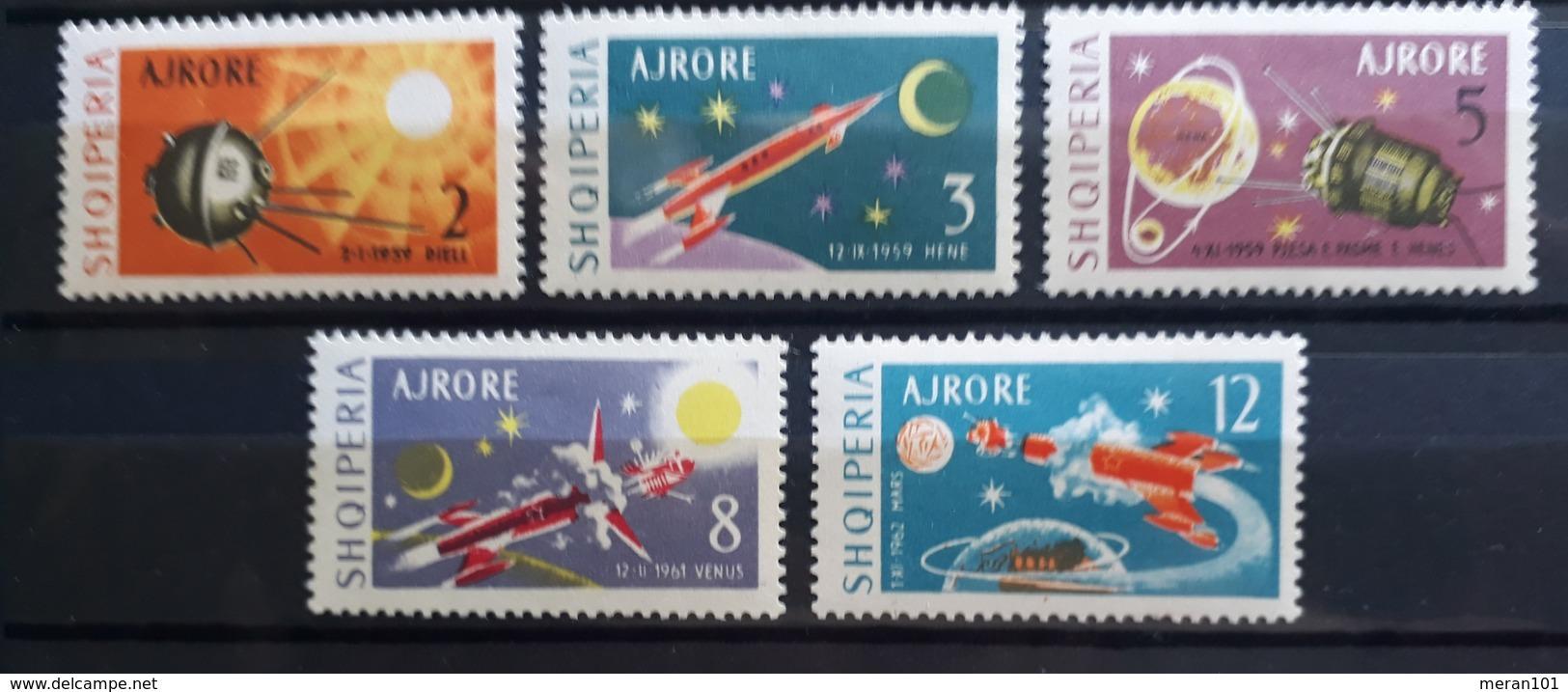 Albanien 1963, Mi 779-83 MNH Postfrisch - Albanie