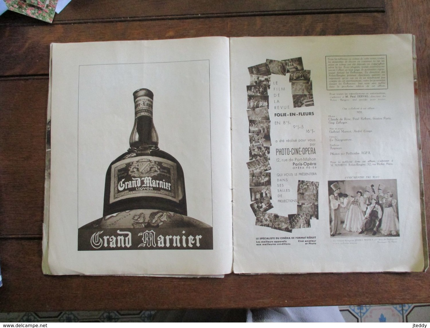 Boek  éditions   DES  FOLIES  -- BERGéRE   1938 - Affiches