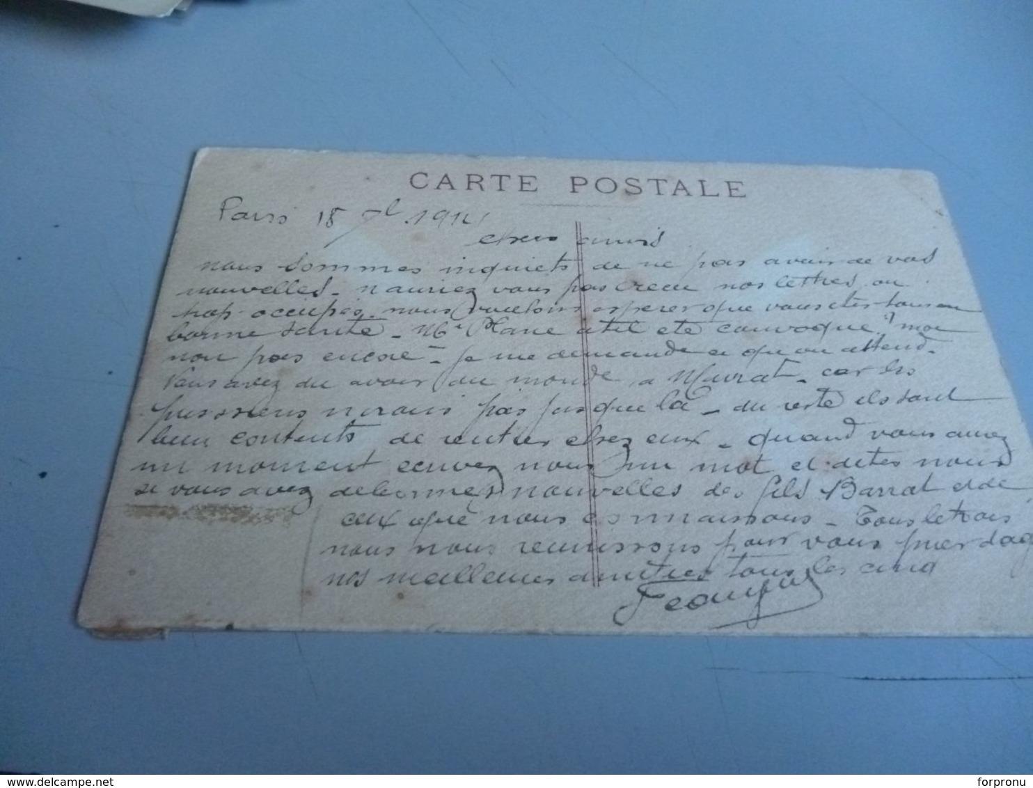Carte Postale GUERRE 14/18  OFFICIER PRUSSIEN EN CASQUE A POINTE LES DERNIERS MOMENTS D'UN PITRE - 1914-18