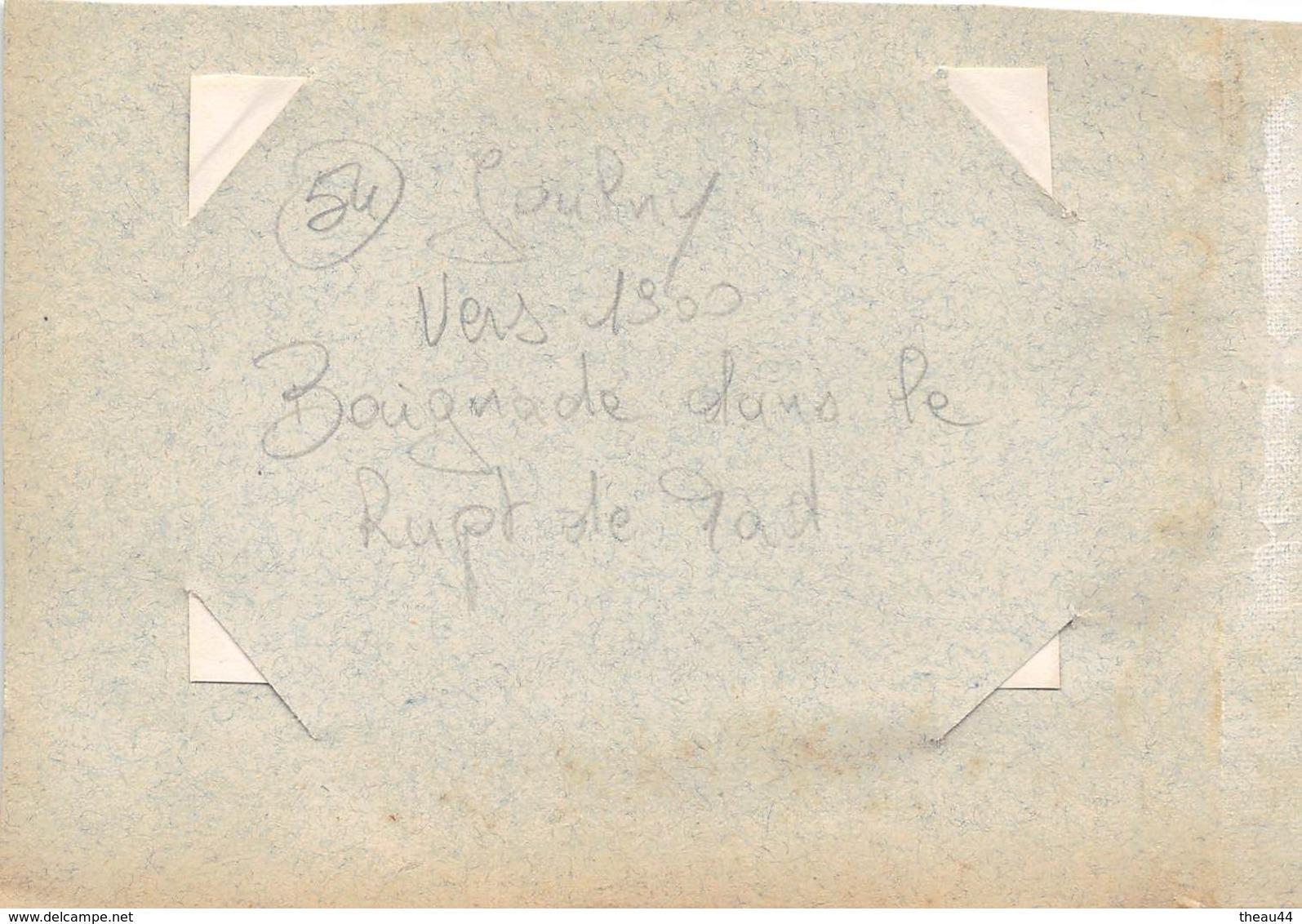 ¤¤   -  JAULNY   -   Cliché Albuminé Vers 1900  -   Baignade Dans Le Rupt De Mad  -  Voir Description   -  ¤¤ - Autres Communes