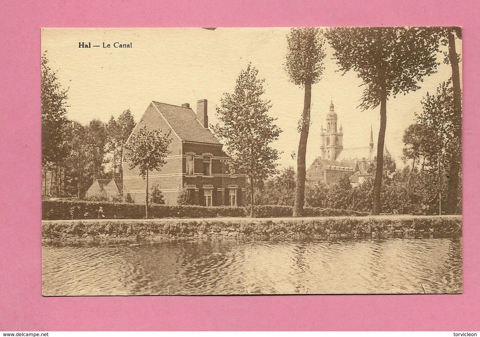 C.P. Halle = Le  Canal - Halle