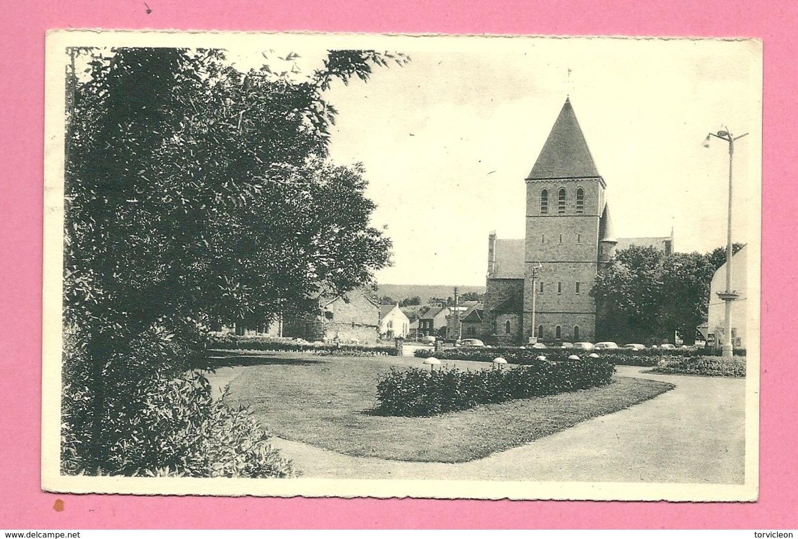 C.P. Han-sur-Lesse =  L '  Eglise  Et  Le Parc  Communal - Rochefort