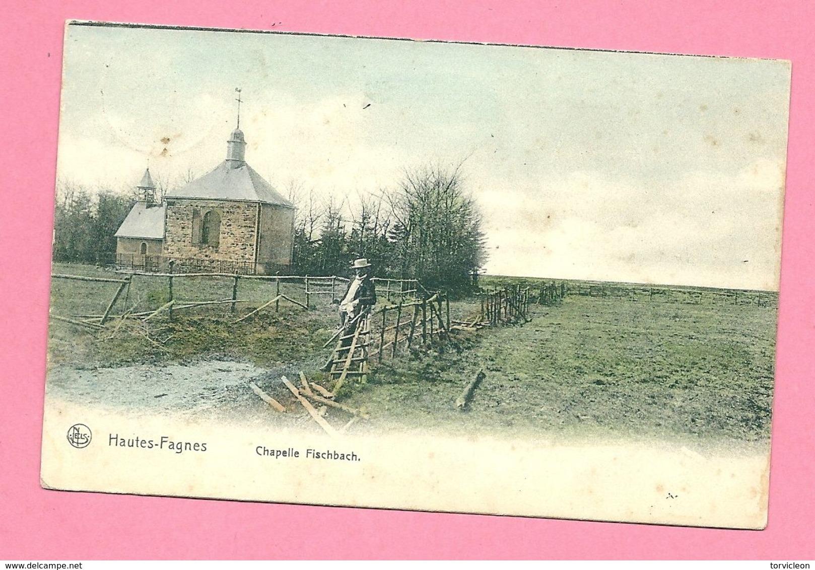 C.P.  Hautes Fagnes = Chapelle FISCHBACH - Belgium