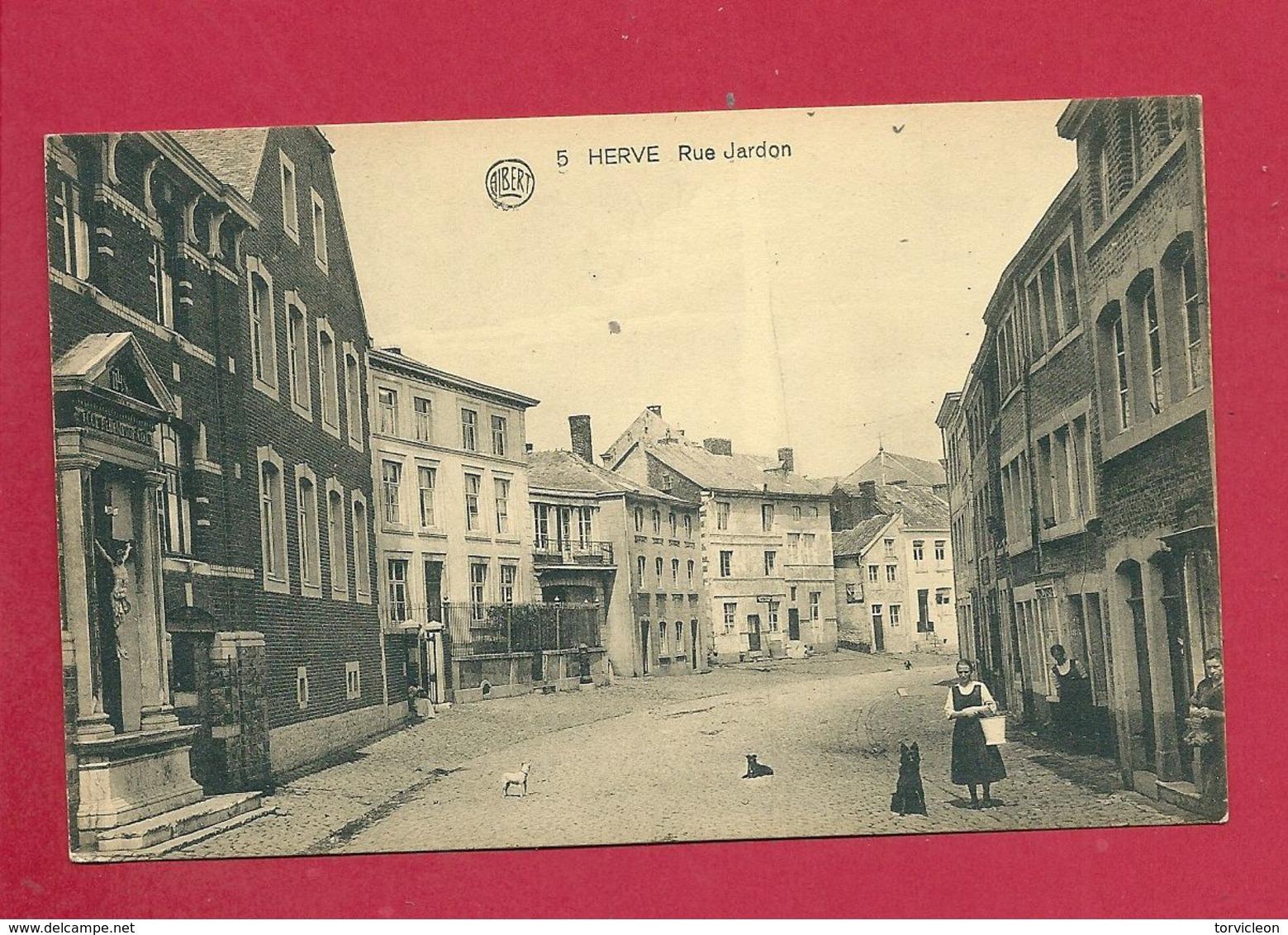 C.P. Herve =  Rue  JARDON - Herve