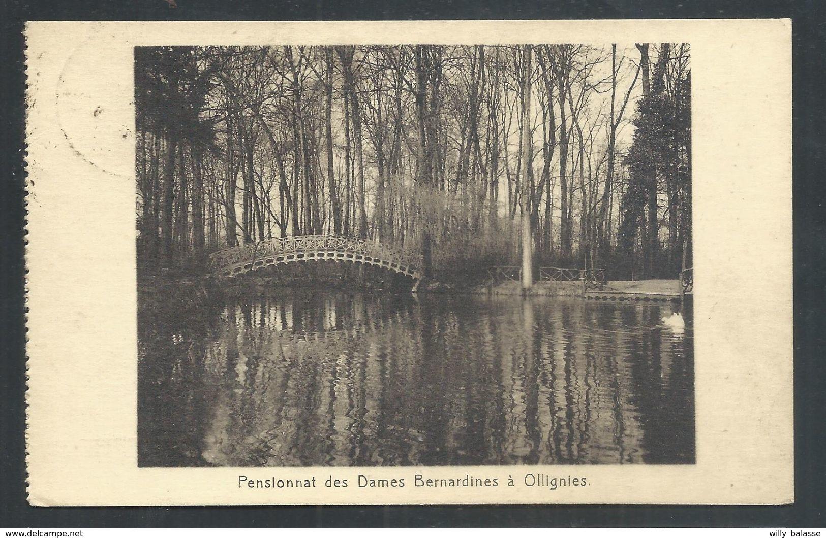 +++ CPA - OLLIGNIES - Lessines - Pensionnat Des Dames Bernardines  // - Lessines