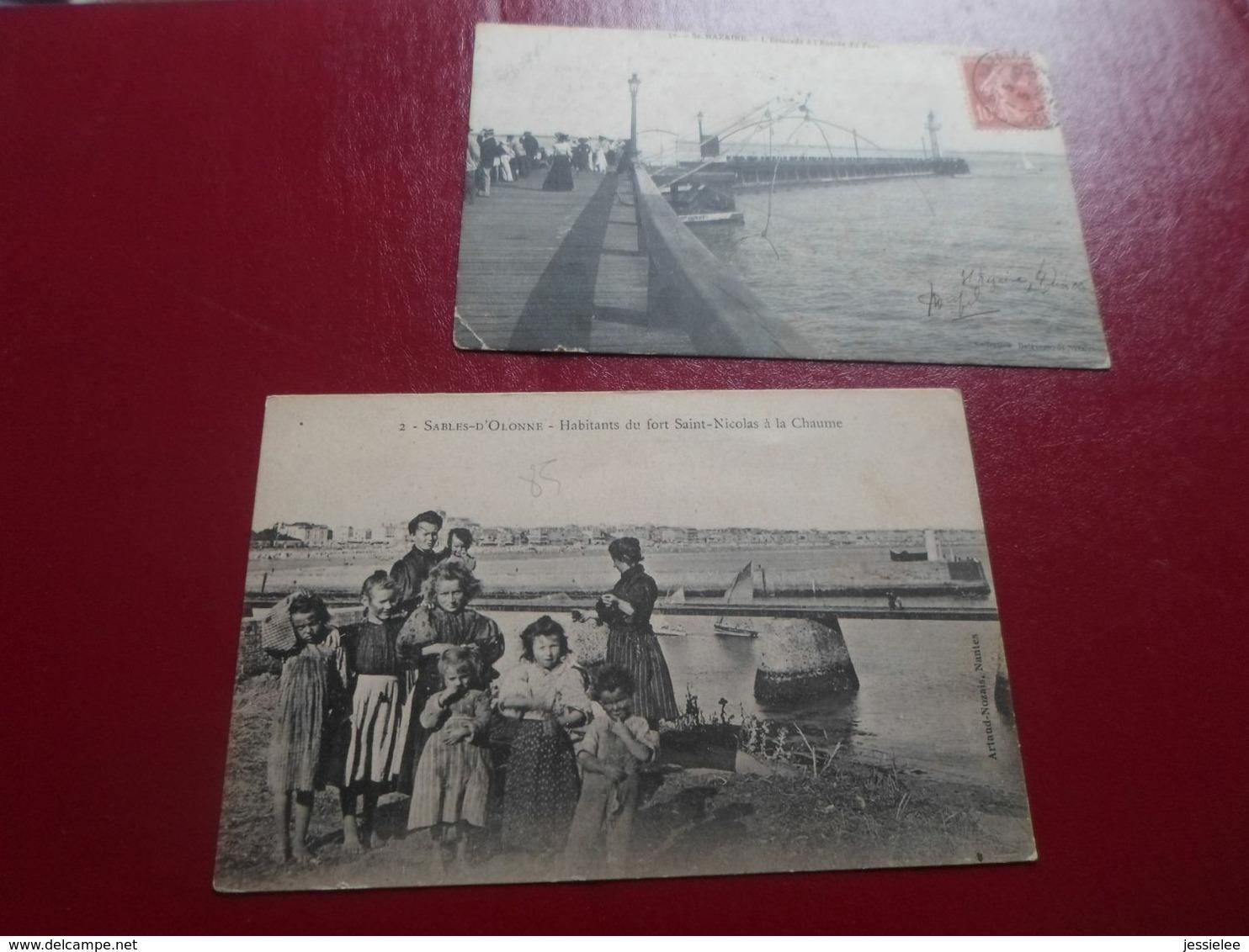 LOT DE 42 CPA / PLAGES - BATEAUX - PECHEURS - SCENES DE PLAGE / VILLES ET REGIONS DIVERSES - Postcards