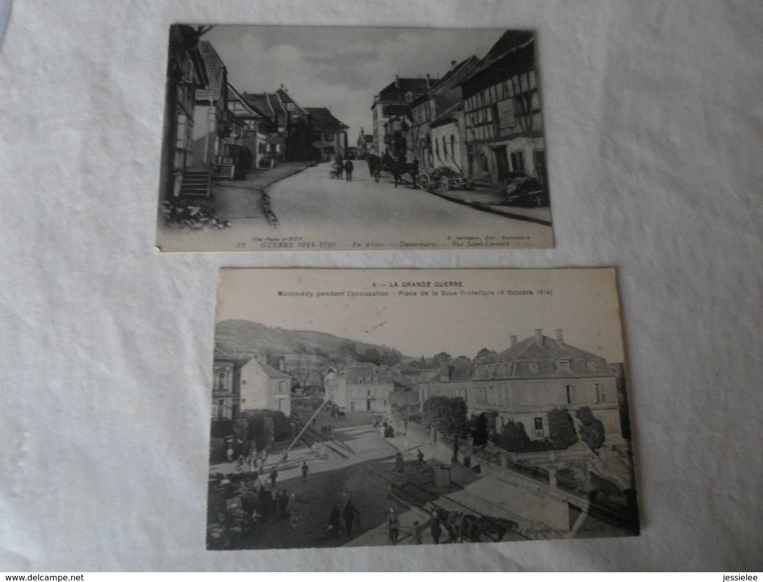 LOT DE 24 CPA / LA FRANCE SOUS L OCCUPATION GUERRE 14-18 - Postcards