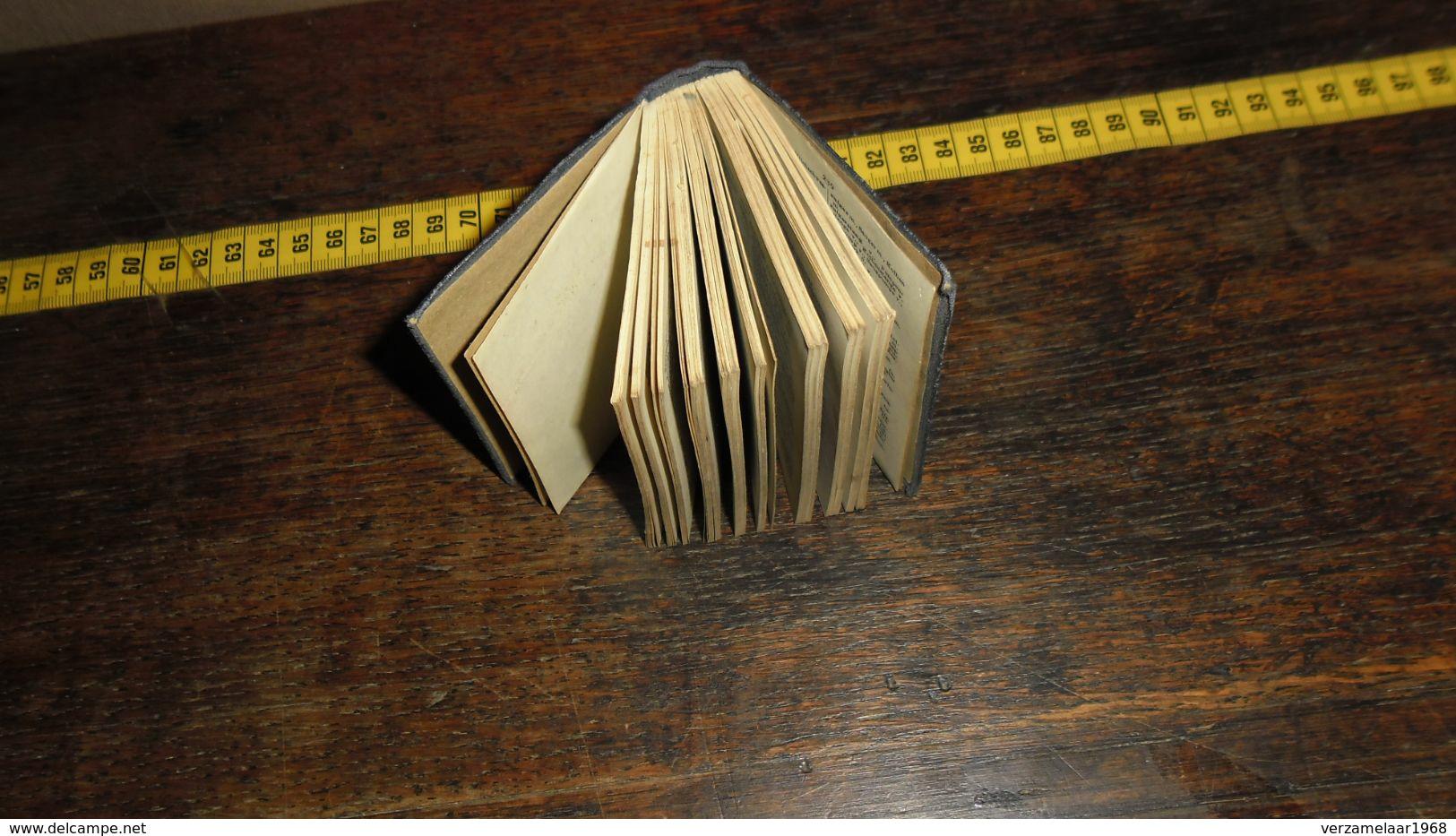 DUITS / NEDERLANDS / POCKET__ ( Lot : Ismo 9 ) - Dictionaries