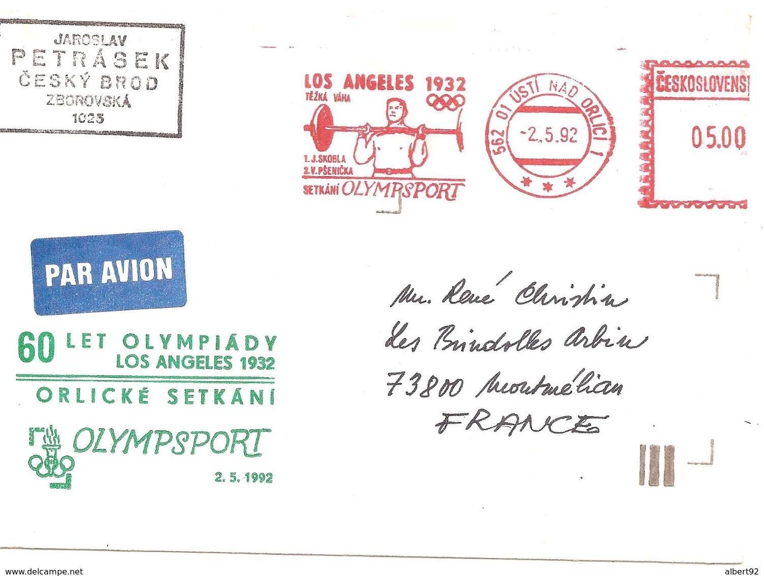 1992 EMA SKOBLA Champion Olympique D'Haltérophilie( Catégorie: Lourds) Los-Angeles 1932... - Gewichtheben