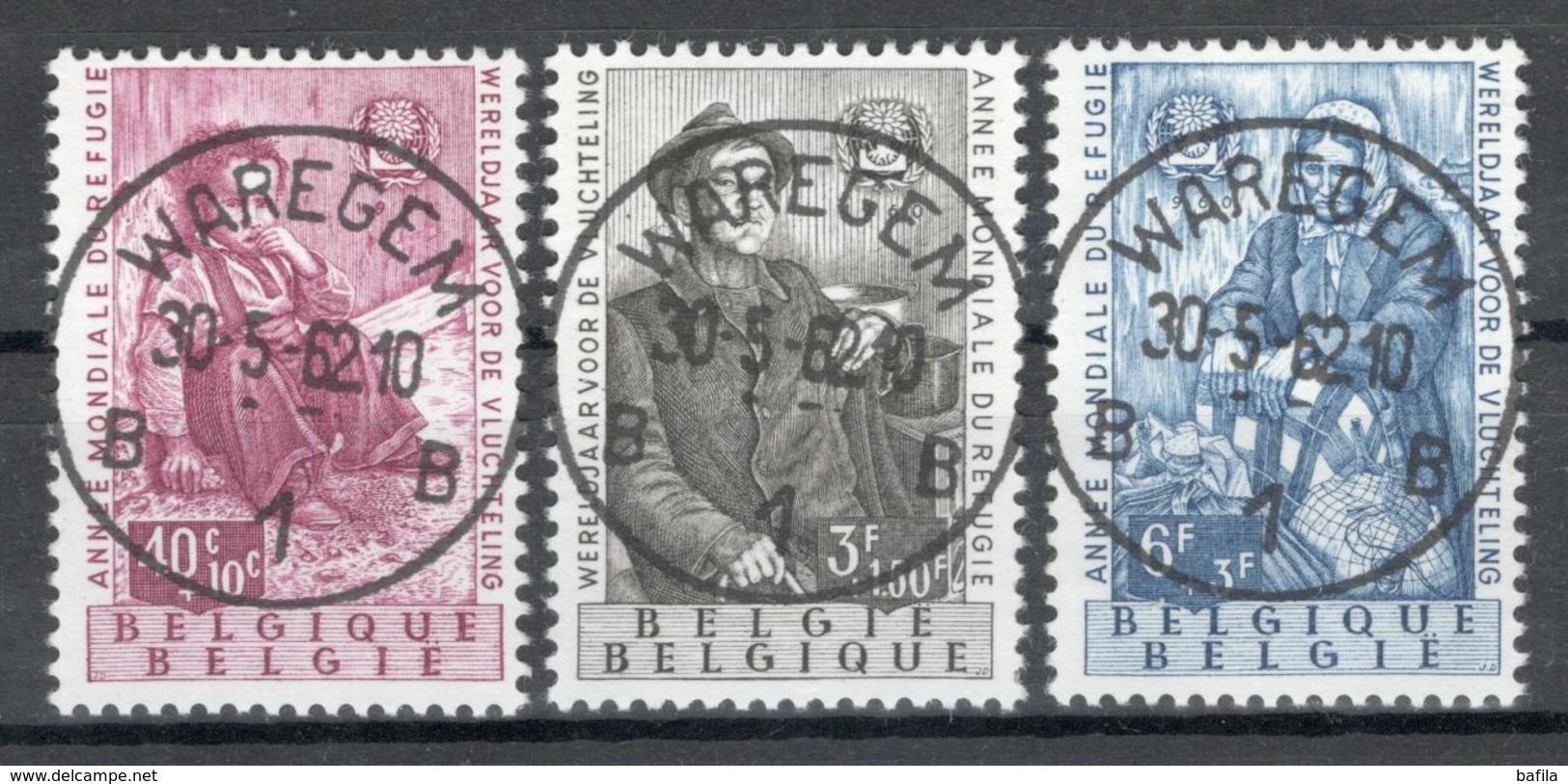 BELGIE: COB 1125/1127 Zeer Mooi Gestempeld. - Belgium