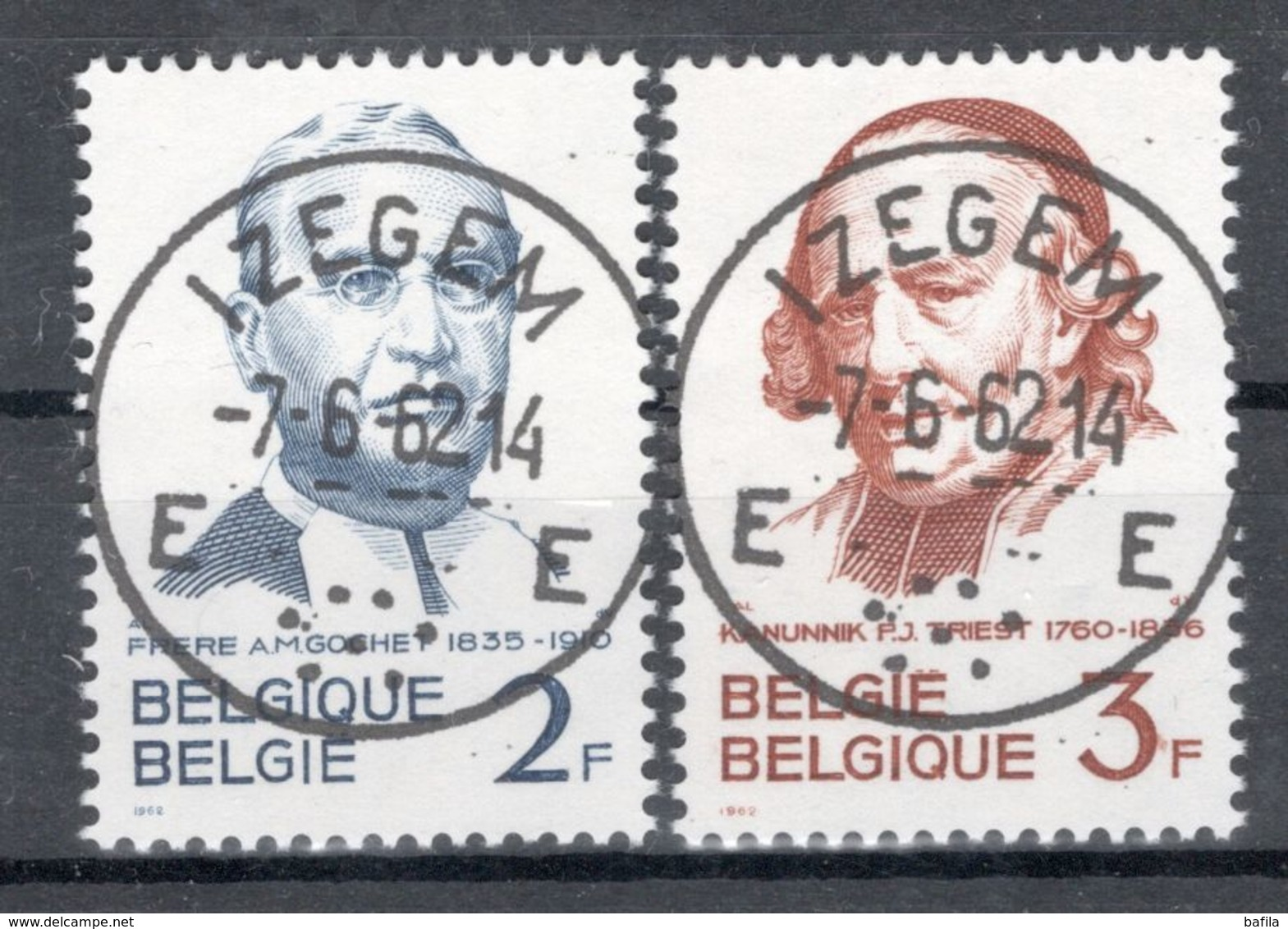 BELGIE: COB 1214/1215 Zeer Mooi Gestempeld. - Belgium
