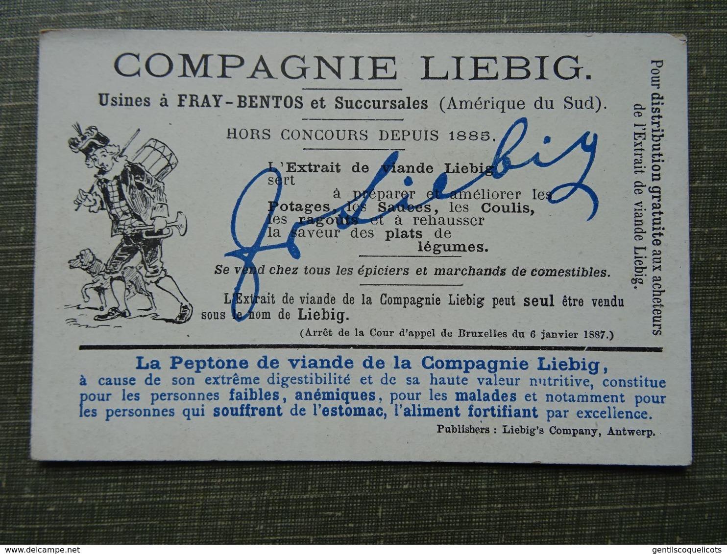 Série Liebig San582 Belge: Chien Savant - Liebig