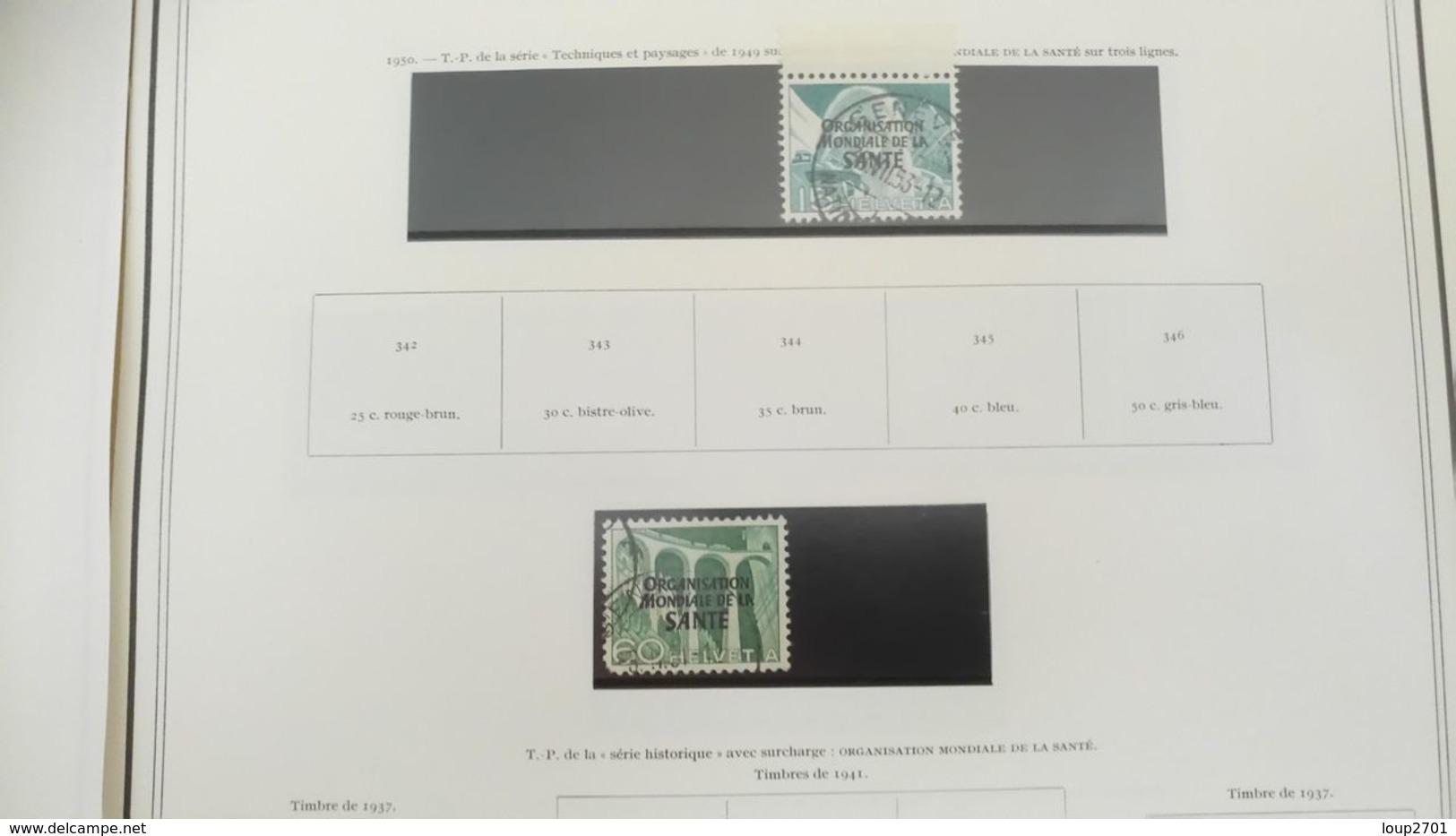 DP056 SUISSE LOT FIN DE CATALOGUE NEUFS / OB  A TRIER COTE++ DÉPART 10€ - Collezioni (in Album)