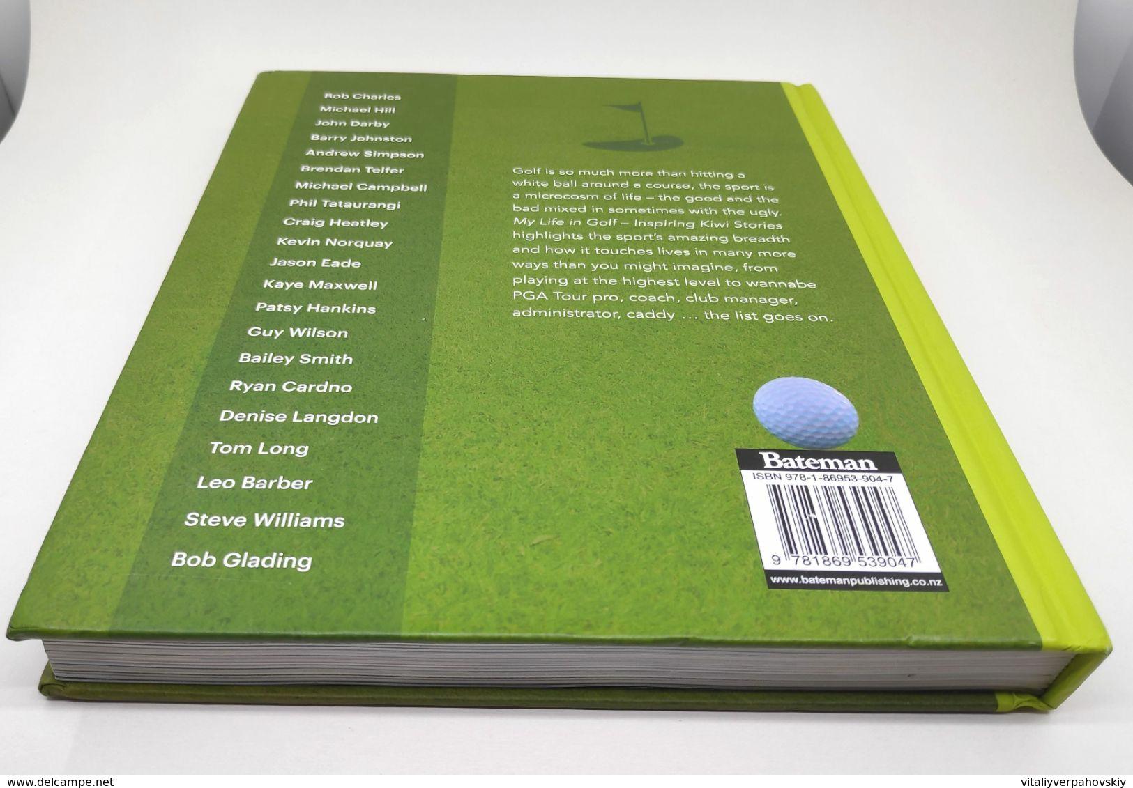 My Life In Golf - Inspiring Kiwi Stories. Heather Kidd. - 1950-Now