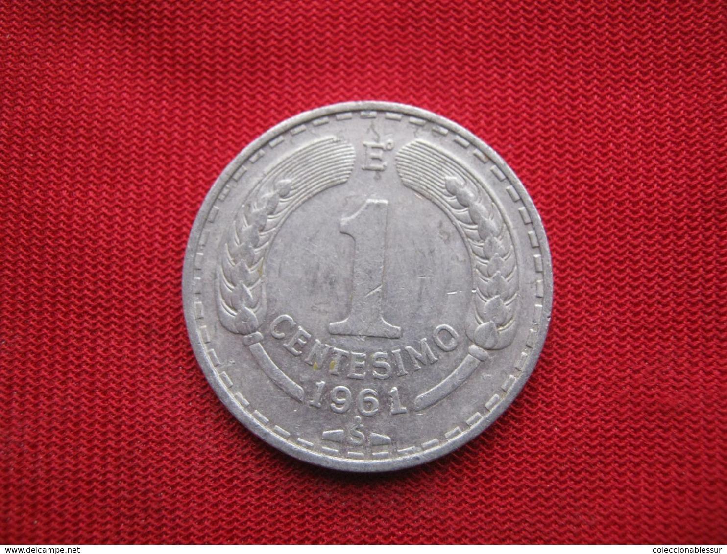 Chile 1 Centesimo 1961 - Chili