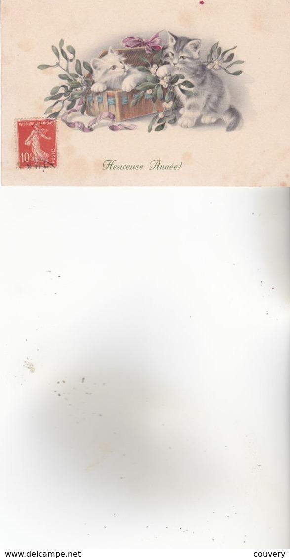 CPA CHIEN ,1 Carte M.M.VIENNE N°784.(1913) - Dogs