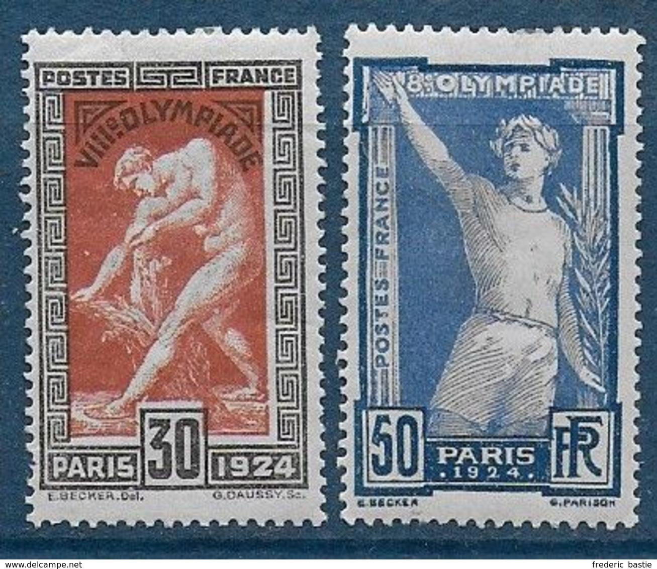 France   N° 185 Et 186 * - Cote : 46 € - Ungebraucht