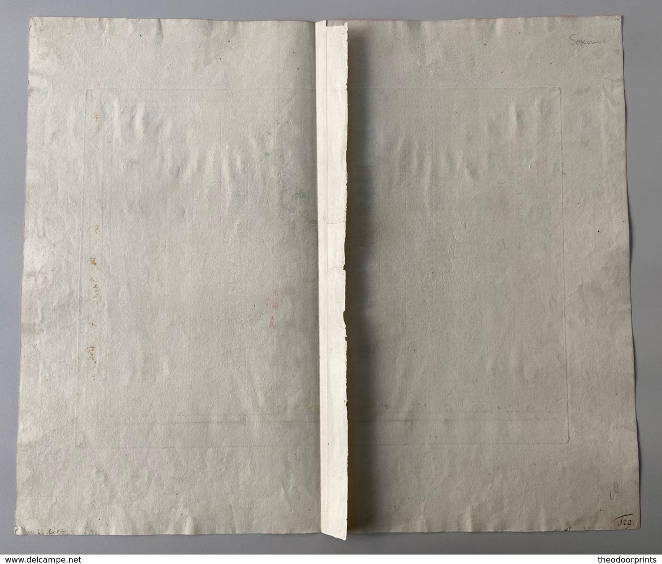 Ducatus Saxoniae 1752 - Cartes Topographiques