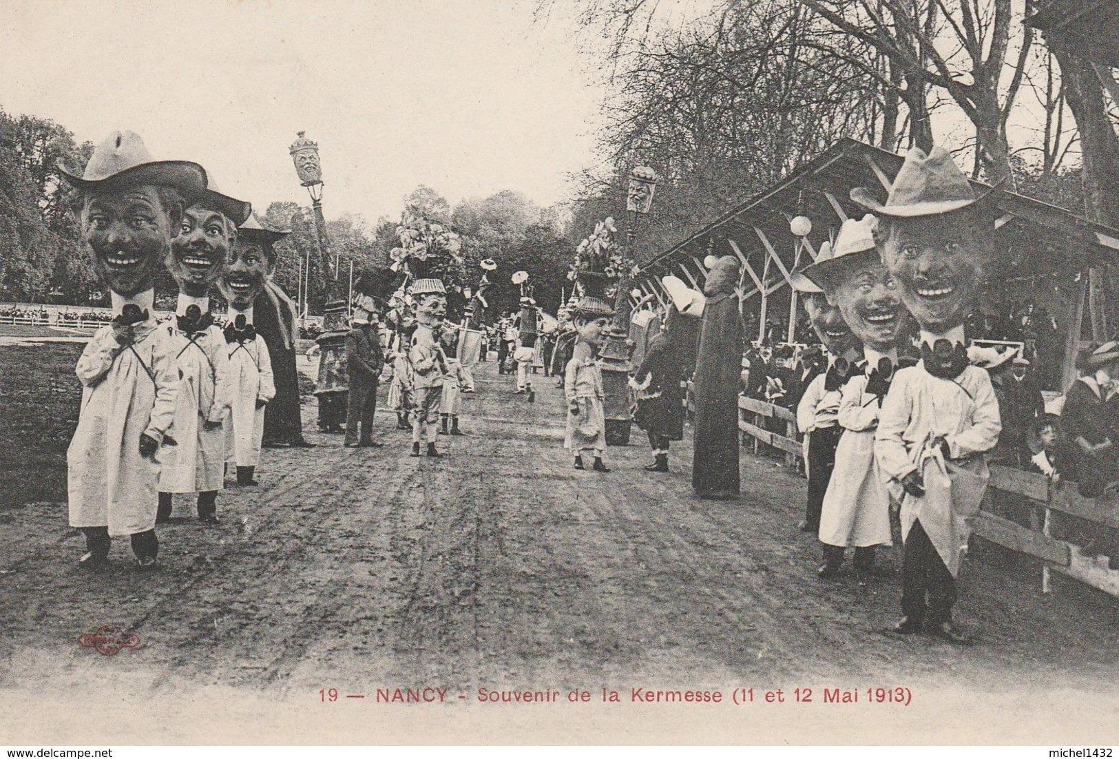 NANCY Kermesse 11 12 Mai 1913 - Nancy