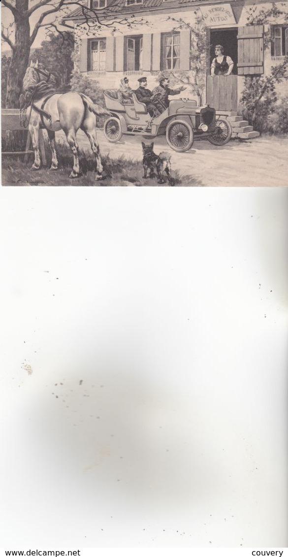 CPA CHEVAUX ,1 Carte, M.M.VIENNE.n°536. Non écrite. - Chevaux