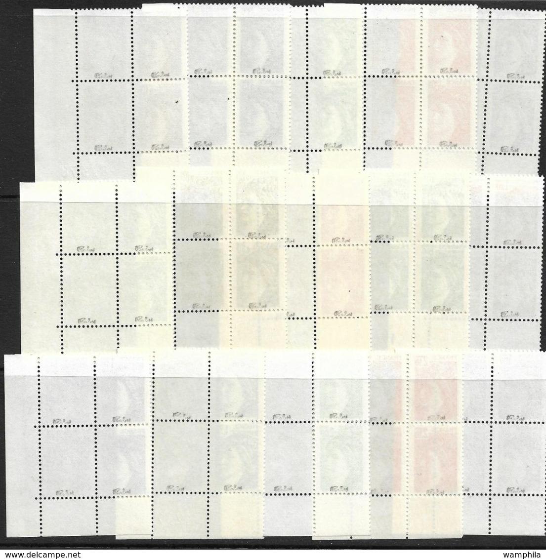 France N°1965/1979**. Variété Sans Bande De Phosphore Cote 2500€ - Errors & Oddities