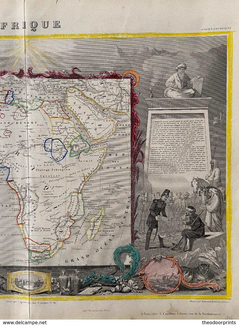Afrique 1852 - Mapas Geográficas