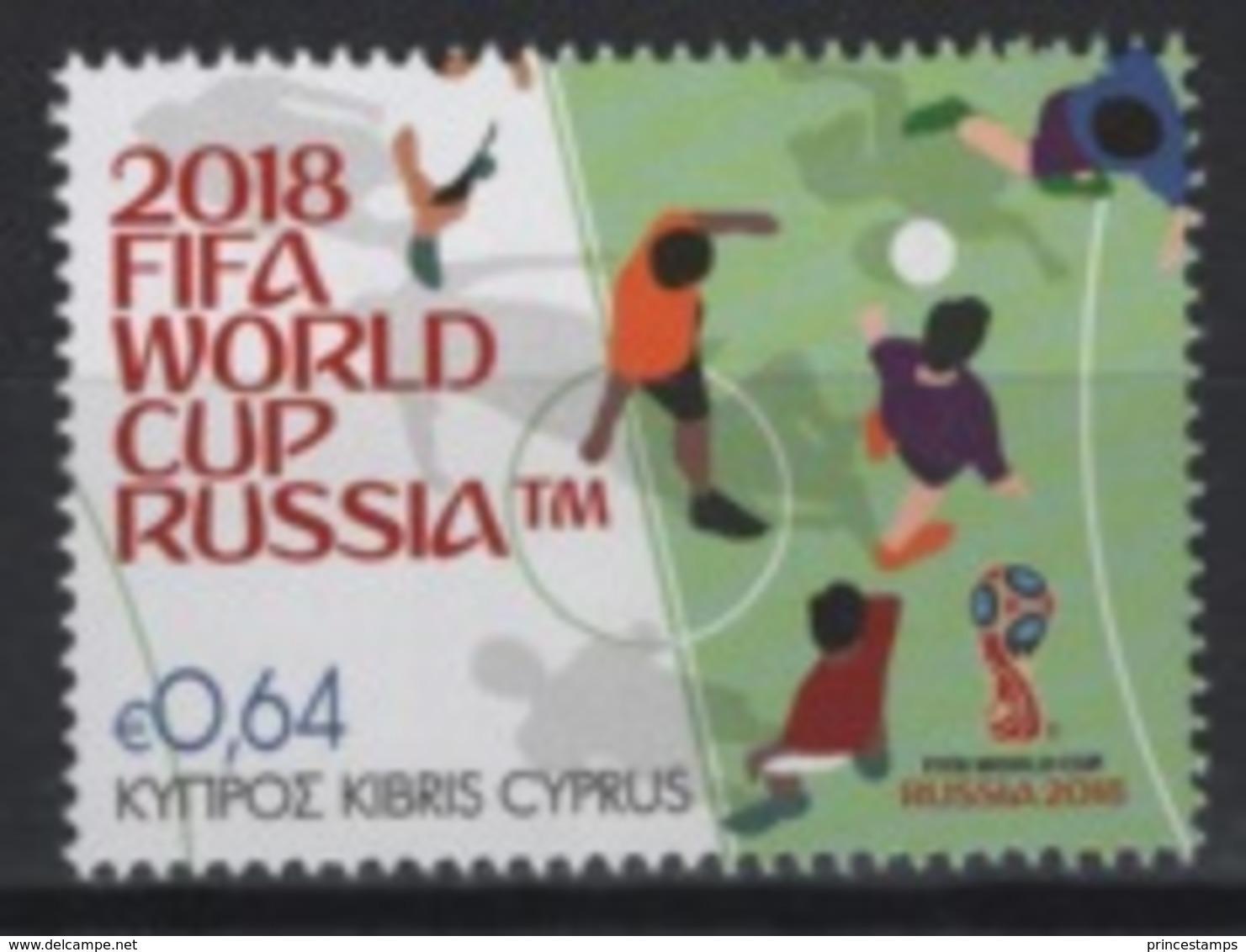 Cyprus (2018) - Set -  /  World Cup Russia - Soccer - Football - Calcio - Fussball - 2018 – Rusia
