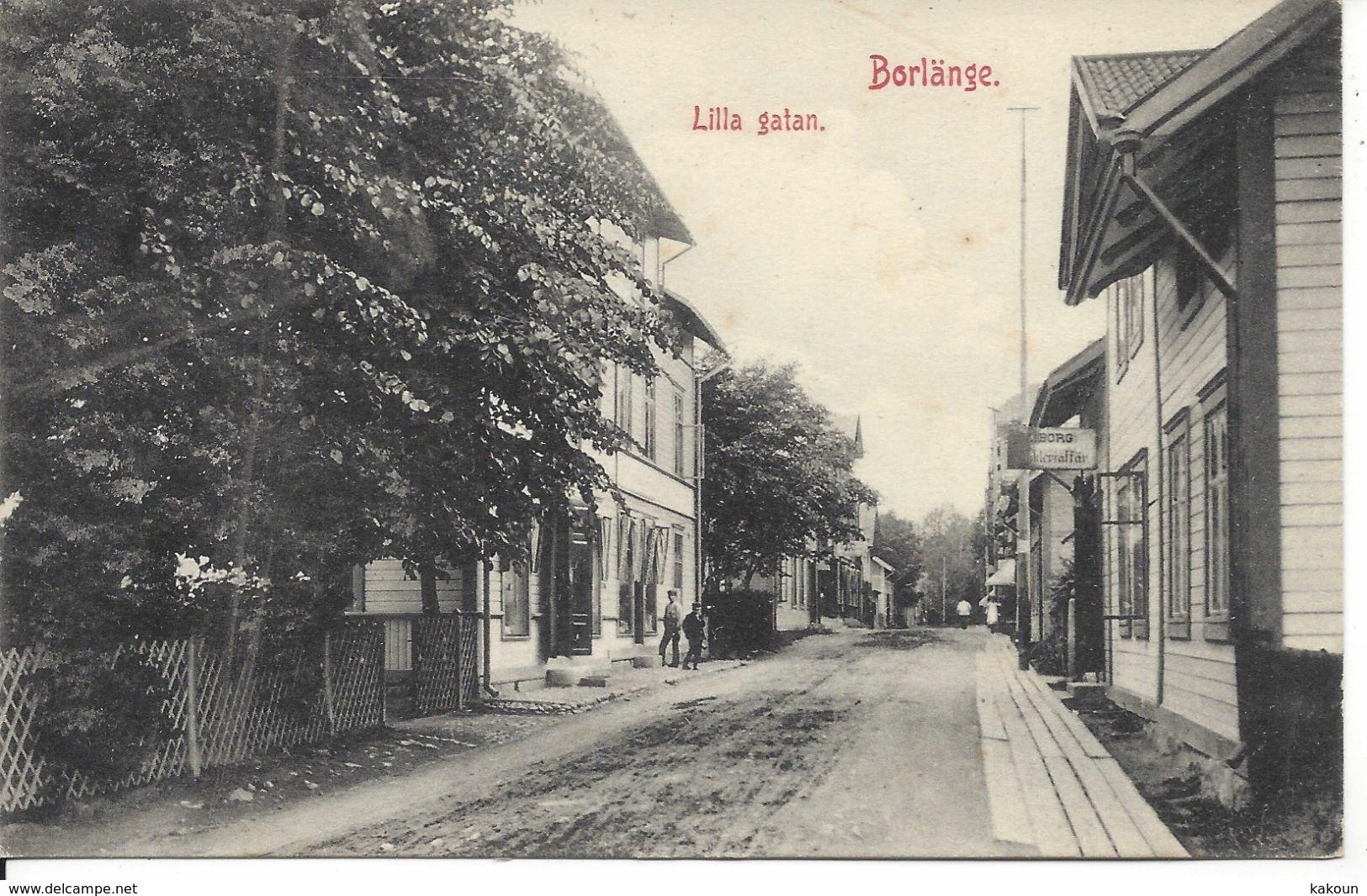 Lilla Gatan, Borlange - Sweden, Unused  (D166) - Zweden