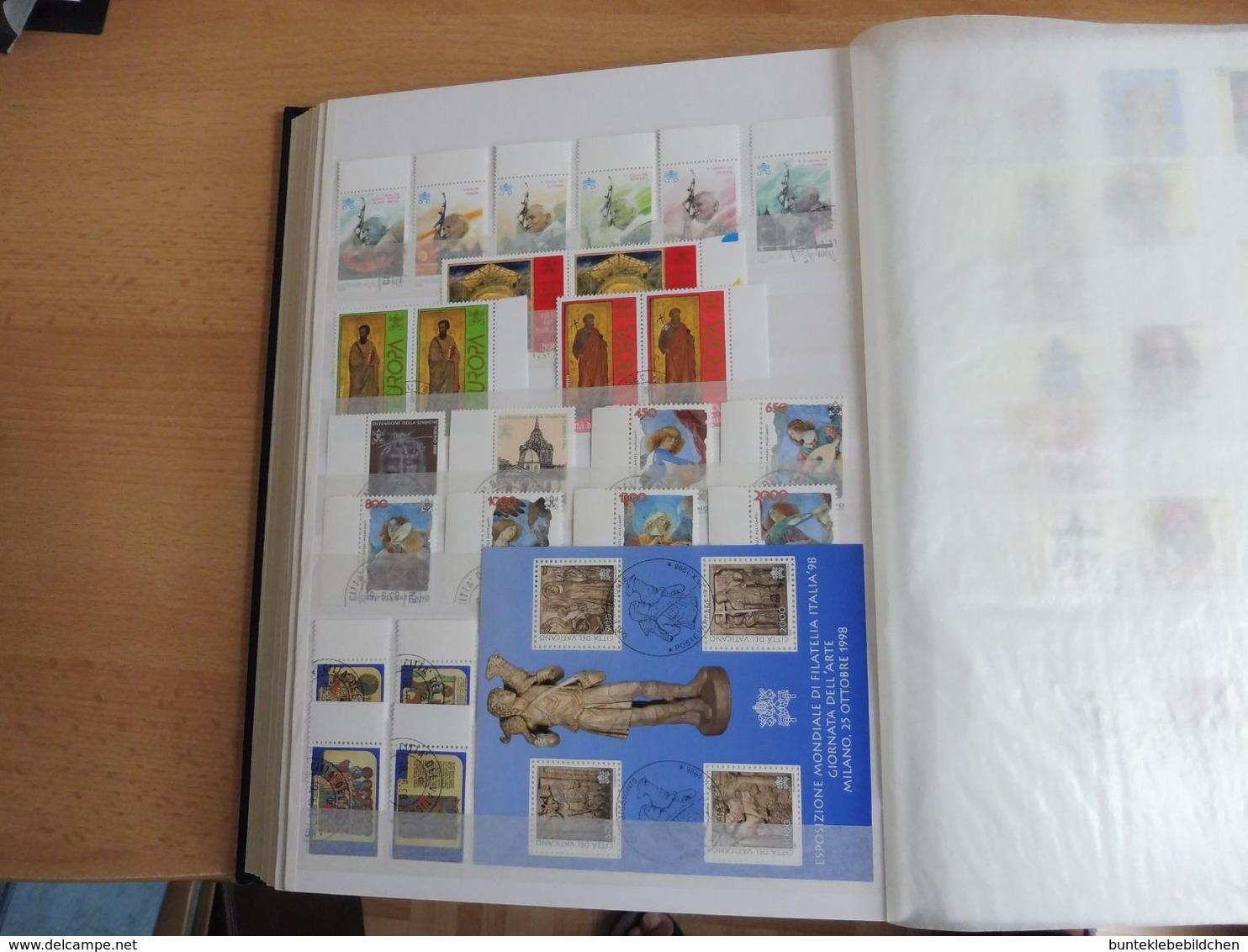 Vatikan Sammlung Ab 69 Bis €- Marken **/o, Alles Bebildert - Verzamelingen (in Albums)