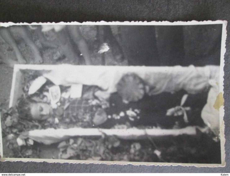 POST-MORTEM CHILD,  ENFANT POST-MORTEM, ORIGINAL PHOTO - Personnes Anonymes