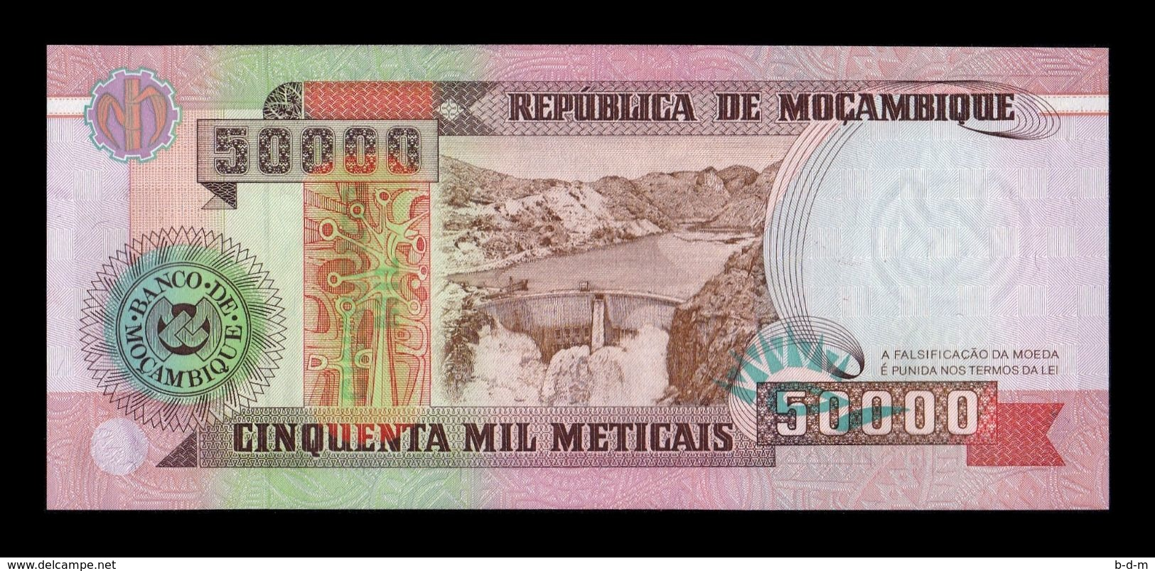 Mozambique 50000 Meticais 1993 Pick 138 SC UNC - Mozambique