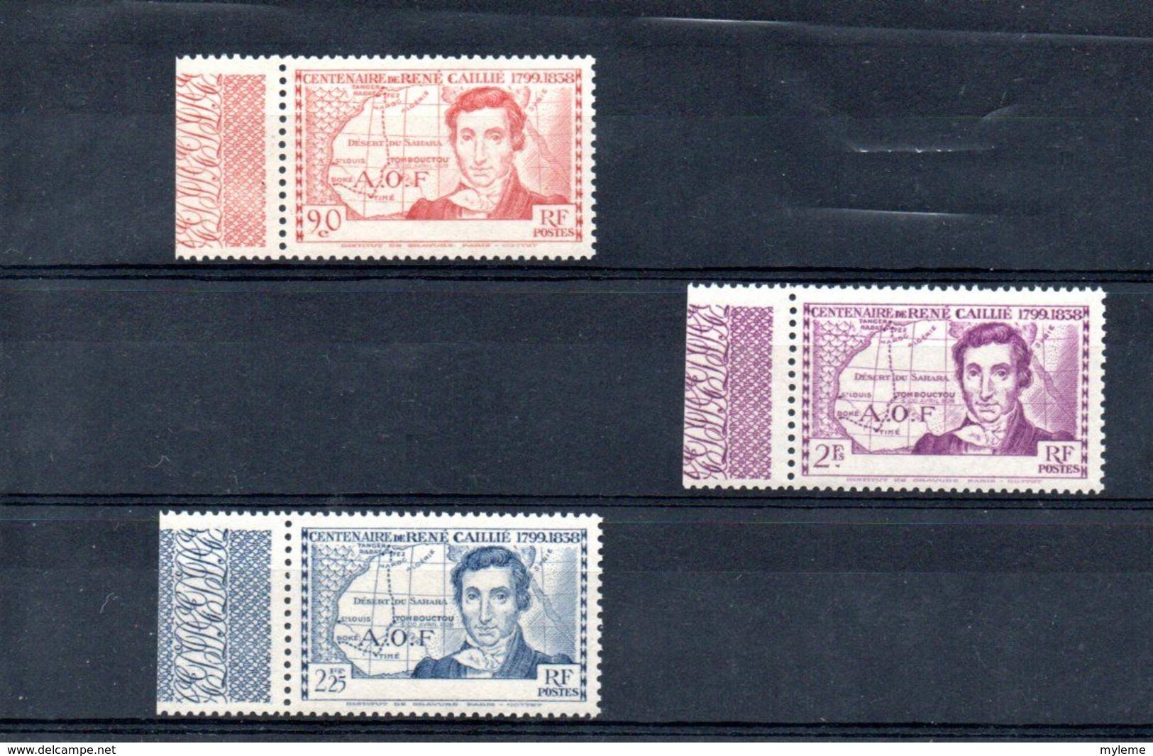 H103 Magnifique Variété De Côte D'Ivoire N° 141a  à 143a ** + Pochette 500 Timbres Des Anciennes Colonies - Collections (with Albums)