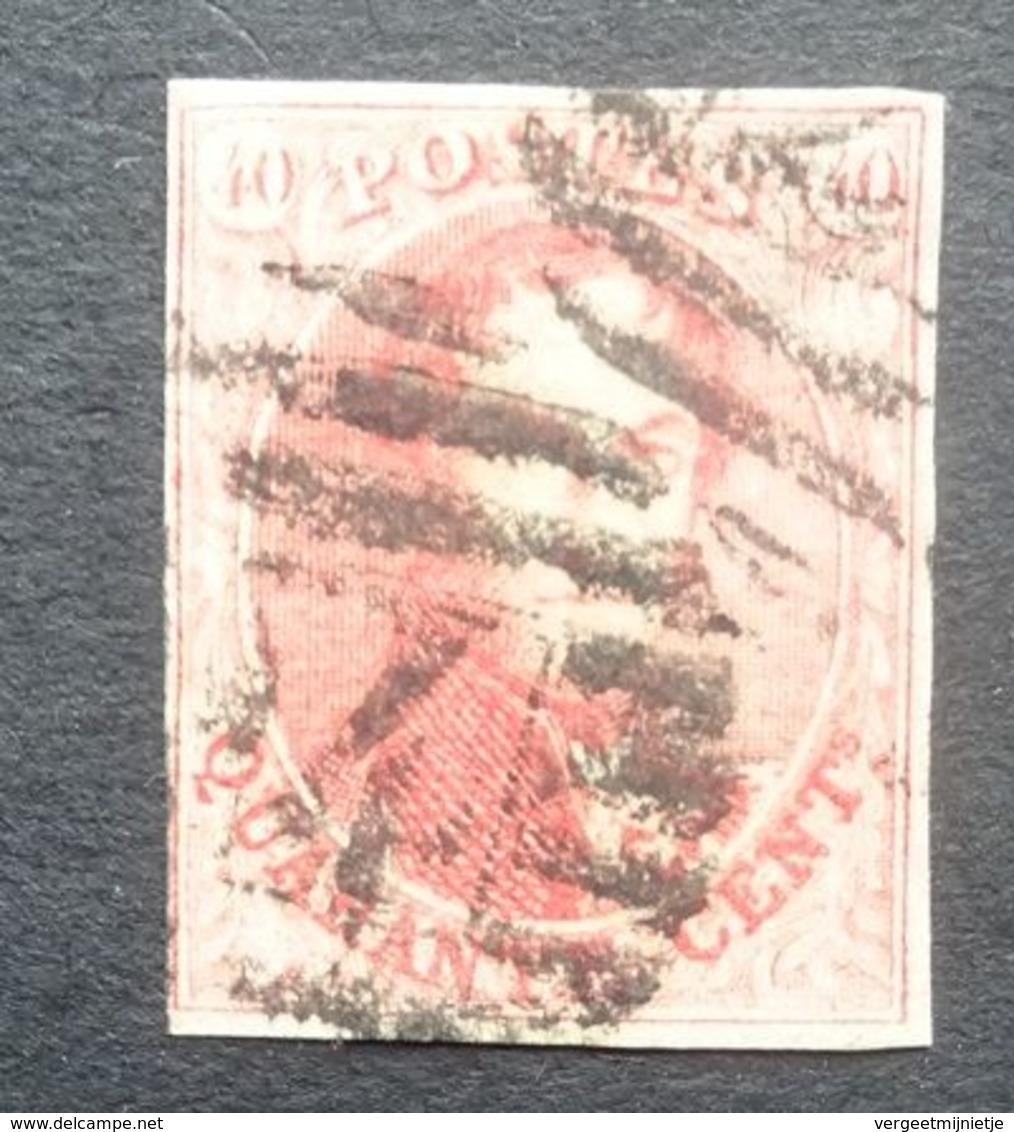 BELGIE   1958     Nr. 12     Gestempeld    CW  90,00 - 1858-1862 Medaillons (9/12)