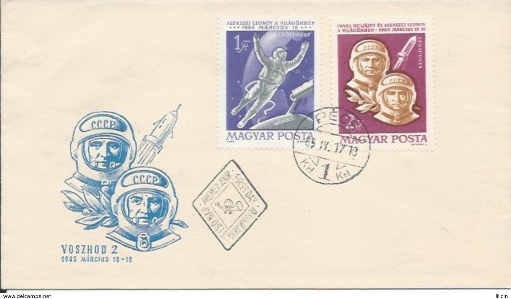 Letter FI000107 - Hungary Soviet Union (USSR SSSR Russia) Space Program 1965 - Unclassified