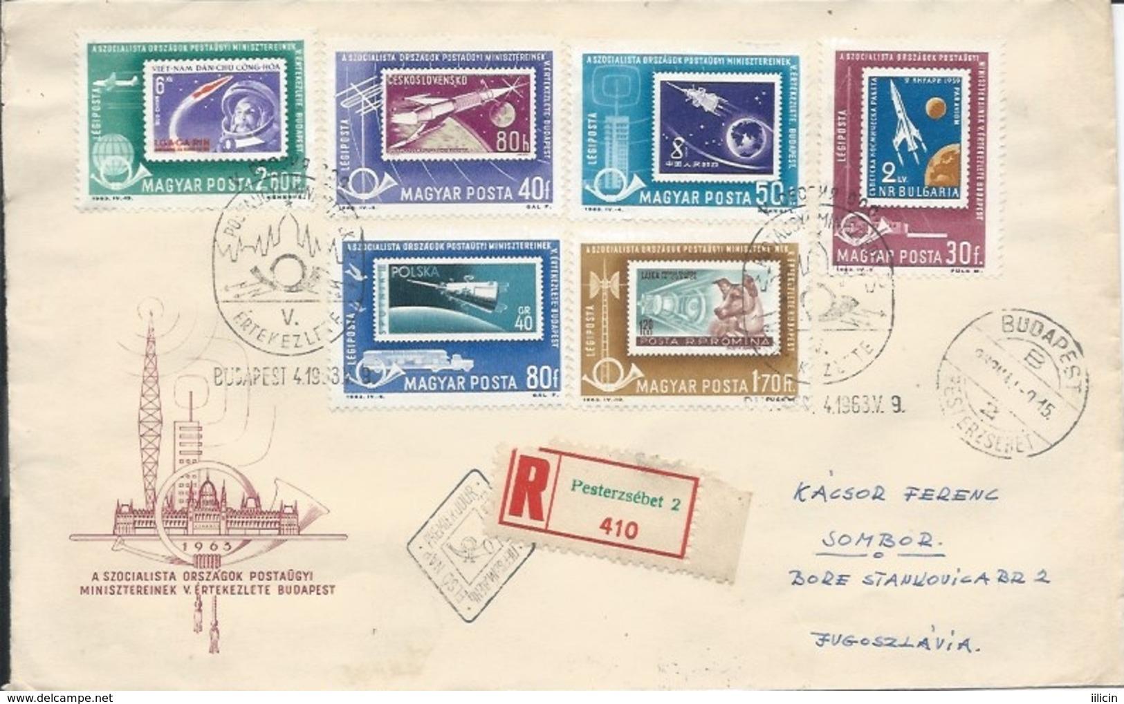 Letter FI000114 - Hungary Soviet Union (USSR SSSR Russia) Space Program 1963 - Unclassified