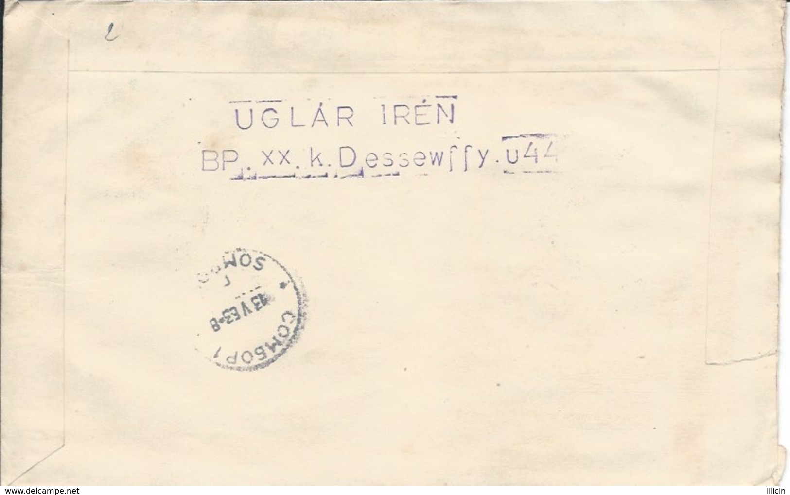 Letter FI000115 - Hungary Soviet Union (USSR SSSR Russia) Space Program 1963 - Unclassified