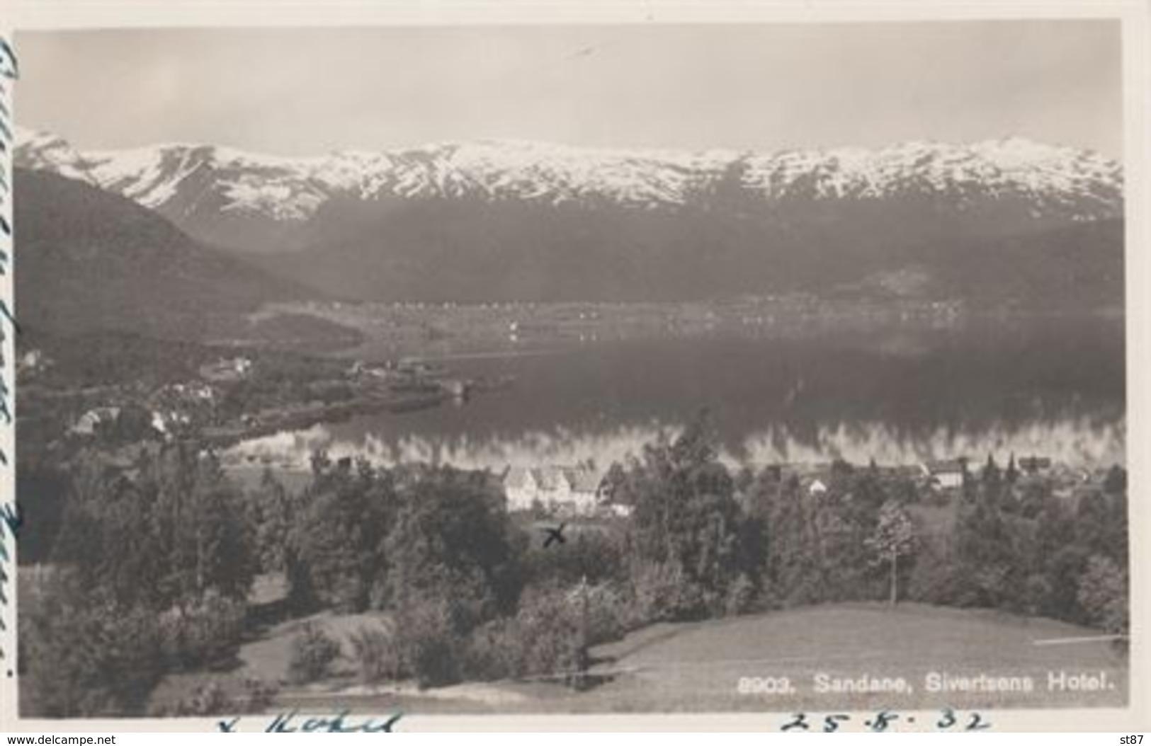 No Sandane Sivertsens Hotel 1932 - Noruega