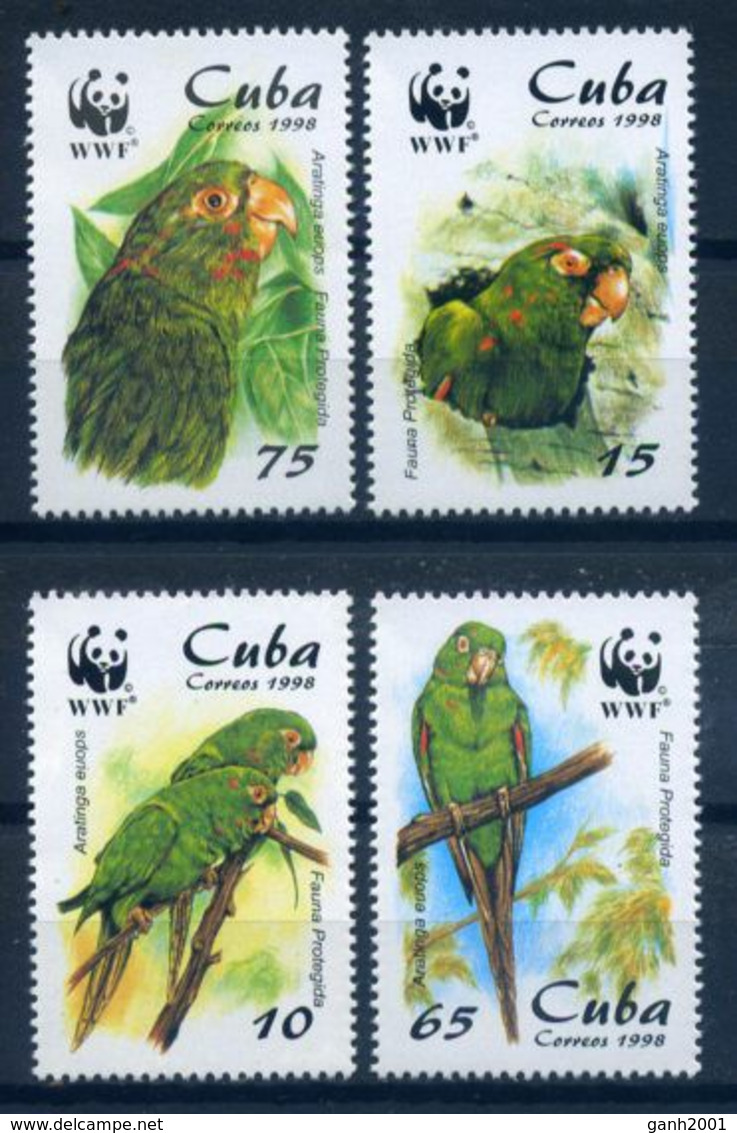 Cuba 1998 / Birds WWF MNH Vögel Oiseaux Aves / C7719   1-36 - Sin Clasificación