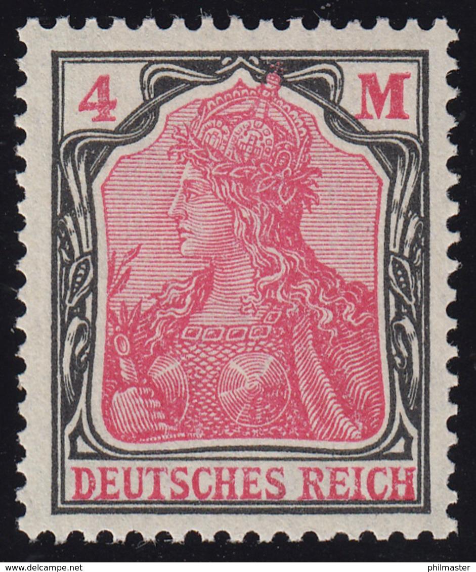 153 Germania 4 Mark ** Postfrisch - Non Classificati